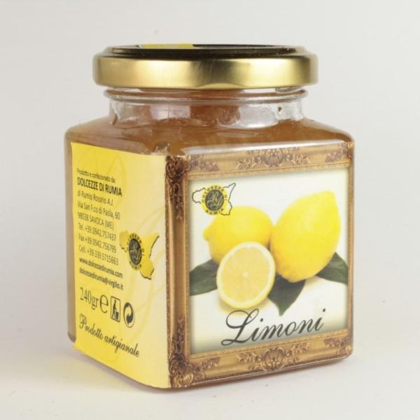 Fruttata di Limoni Val d'Agro'