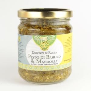 Pesto di Basilico e Mandorla