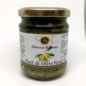 Pate' di Olive Verdi Dolcezze di Rumia