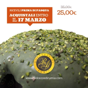 colomba pasquale artigianale al pistacchio dolcezze di rumia2
