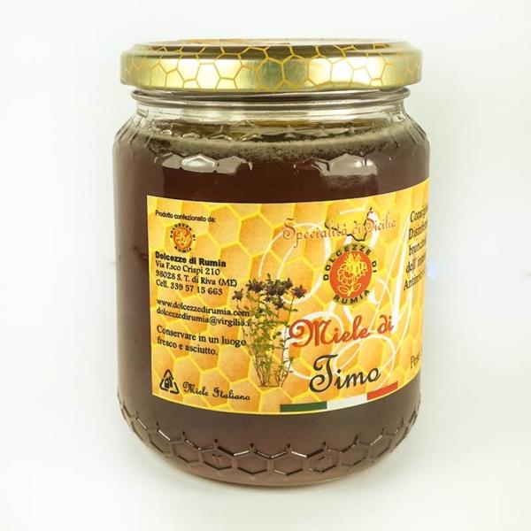 Miele di timo Siciliano Dolcezze di Rumia
