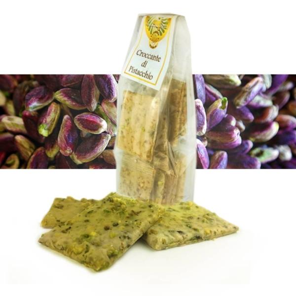 Croccante al pistacchio o torroncino al pistacchio