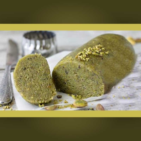 panetto al pistacchio per granite, gelati e bevande al pistacchio
