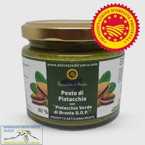 Pesto di Pistacchio Verde di Bronte D.O.P. Dolcezze di Rumia